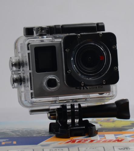 action cam 4k wifi integrado 16mp deportes y uso rudo camara