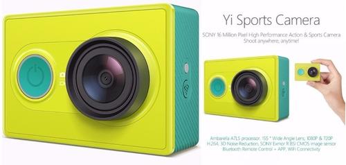 action cam camera original xiaomi yi 1080p 16mp full hd wifi