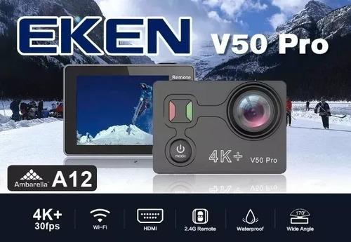 action cam eken alfawise v50 pro ambarella 4k 30fps