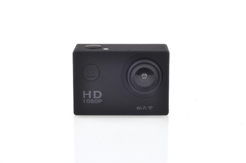 action cam  full hd wifi sumergible con 8 accesorios