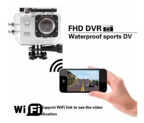 action cam go sports pro full hd 1080p aprova d'agua