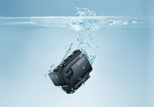 action cam sony con estuche resistente al agua - hdr-as50