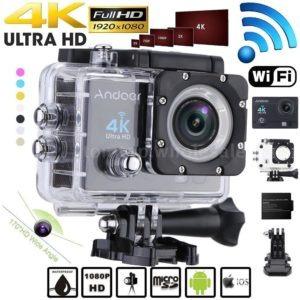 action cam wifi câmera hd 1080p 4k