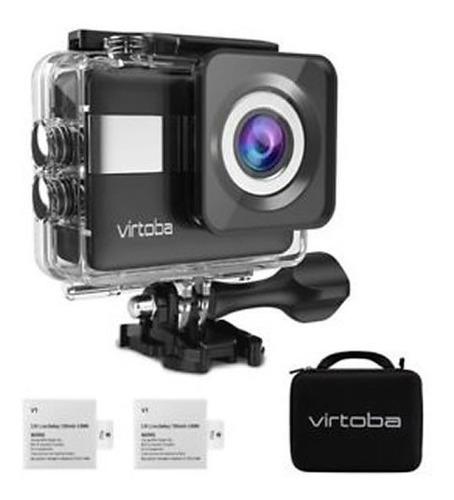 action camera, 4k, wifi, touchscreen, waterproof, accesorios