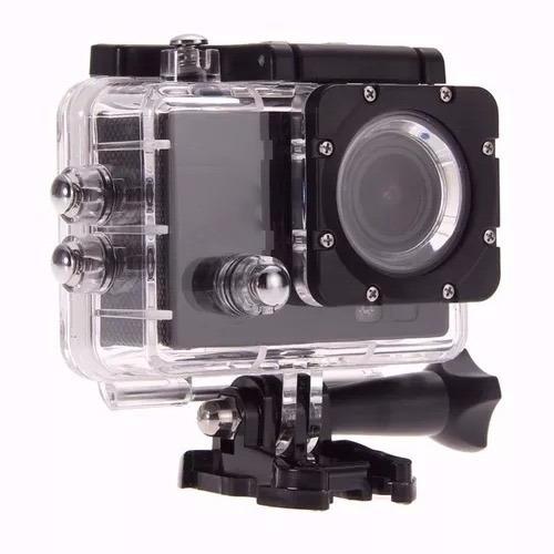 action camera go sport pro lcd prova d'agua filma