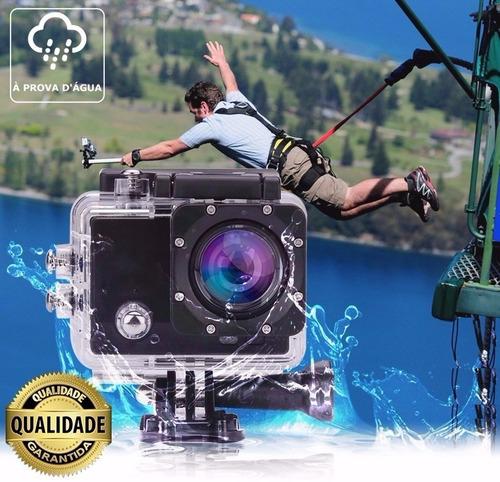 action camera go sport pro lcd prova d'agua filmadora