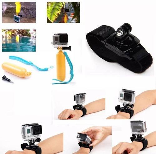 action câmera kit acessórios