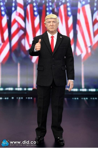 action figure 1/6 united states of america - donald trump