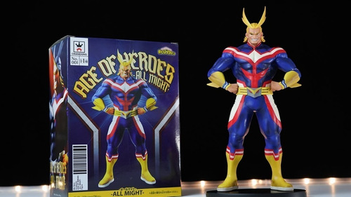 action figure all might my hero academia