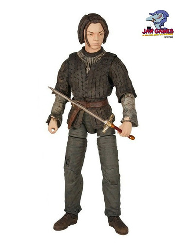 action figure - arya stark - legacy collection - funko
