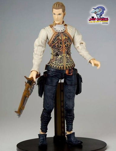 action figure - balthier - final fantasy xii - playarts