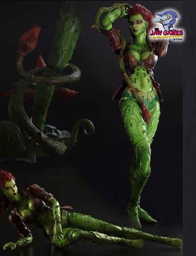 action figure - batman arkham city - poison ivy - play arts