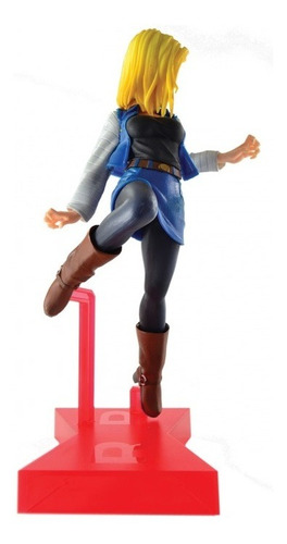 action figure dragon ball z- android 18 - bandai