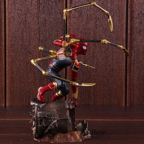 action figure homem aranha de ferro vingadores iron spider