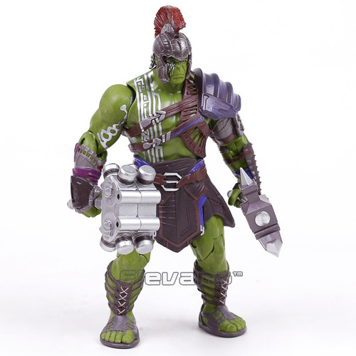 action figure hulk gladiador thor ragnarok 20cm frete grátis
