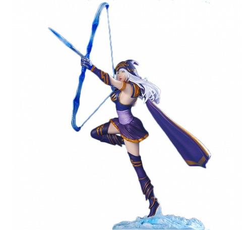 action figure league of legends ashe arqueira deluxe