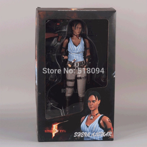 action figure resident 5 sheeva alomar 30 cm - novo
