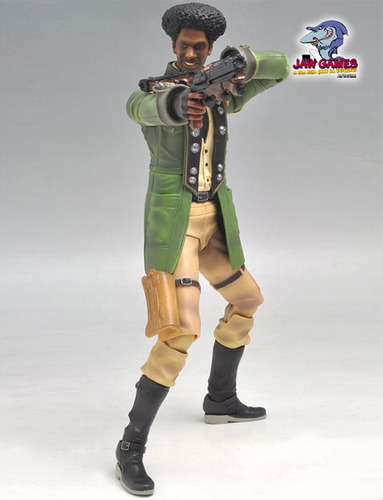 action figure - sazh - final fantasy xiii - playarts kai