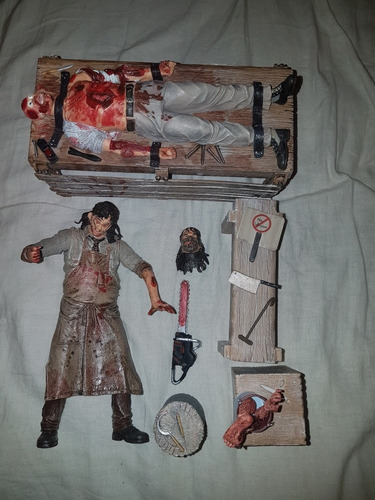 action figure spawn leatherface
