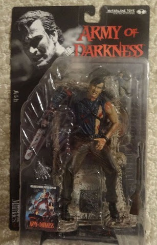 action figure spawn mcfarlane army of darkness - ash e evil