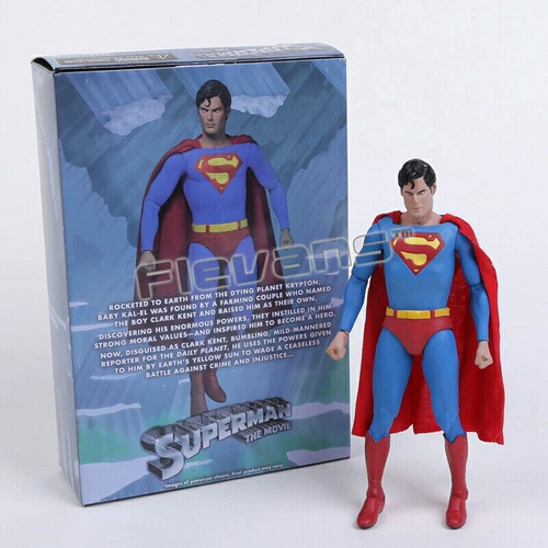 action figure - superman christopher reeves (pronta entrega)