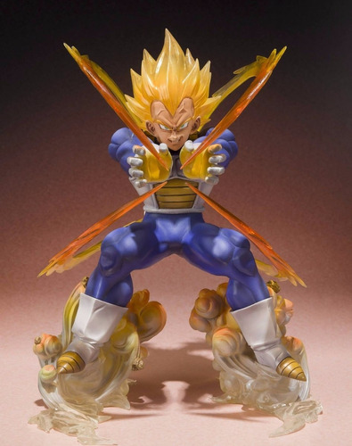 action figures vegeta super saiajin - dragon ball z fg