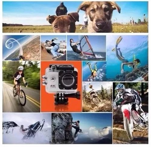 action go cam pro sports ultra 4k full hd 1080p bastão boia