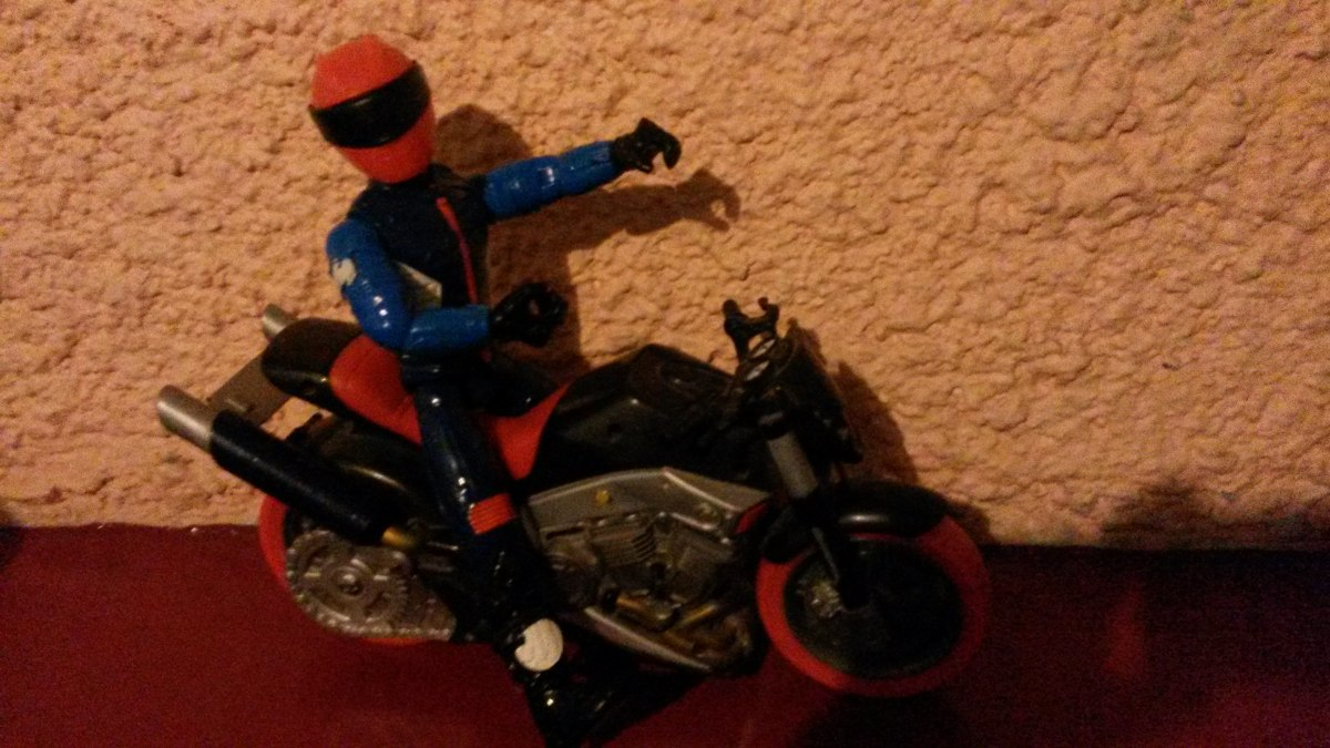 action man con moto en mercado libre. Black Bedroom Furniture Sets. Home Design Ideas