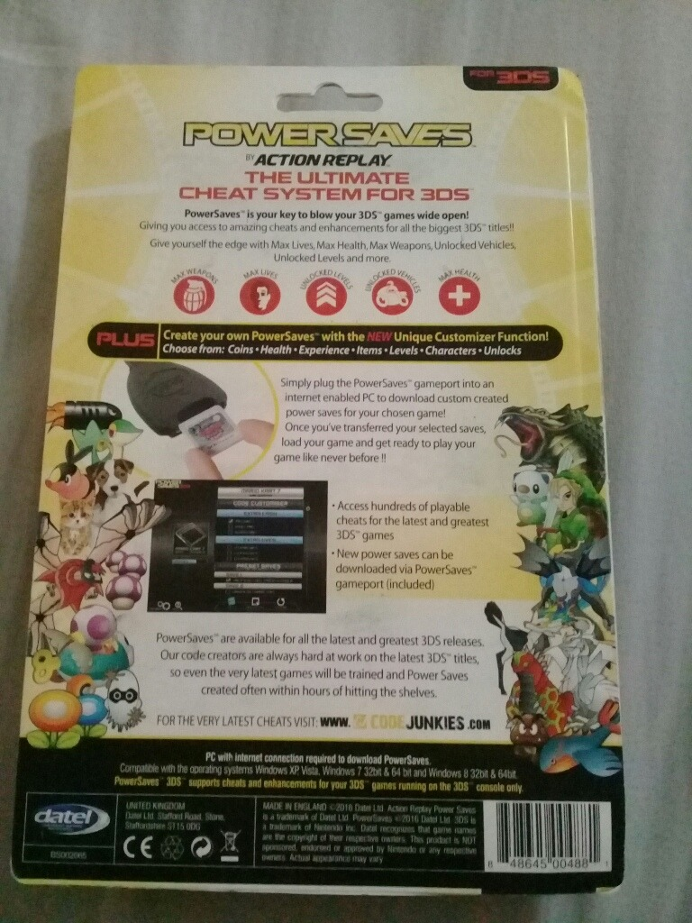 Action Replay Powersaves Para 3ds