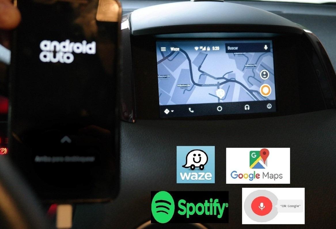Activacion Androidauto Rlink 1-2  Renault Koleos Captur ,etc
