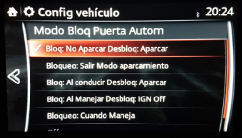 activación cierre automático de puertas mazda 3, 6, cx5!