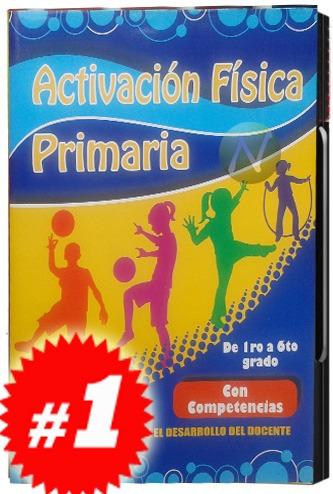activación física primaria por competencias 3 cd's