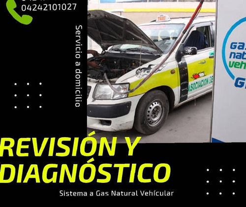 activacion sistema gas natural vehicular