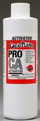 activador acelerador great planes pro ca refill 8 oz