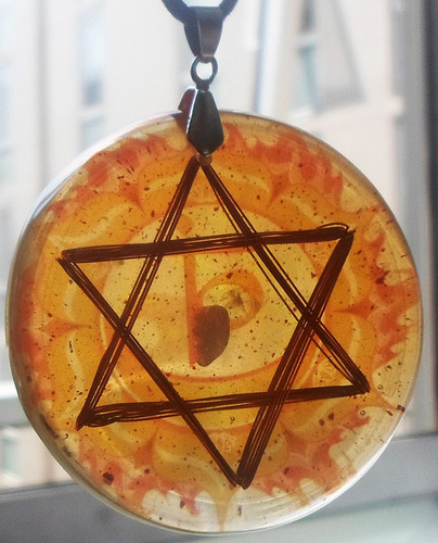 activador del 2° chakra  svadhisthana naranja orgonita dpm
