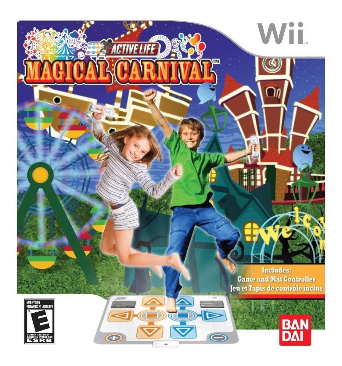 Active Life Magical Carnival Juego Alfombra - Nintendo Wii ...