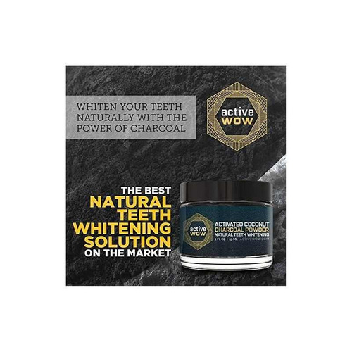 active wow teeth whitening carboncillo en polvo natural