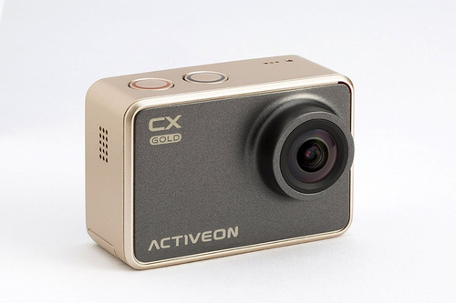 activeon cx oro cámara de acción (oro negro