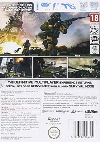Activision Blizzard Call Of Duty Modern Warfare 3 Wii 1