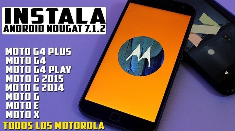Actualización Android Motorola Moto G, E, X, Z (todos)