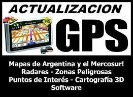actualizacion de mapas gps cell shop service