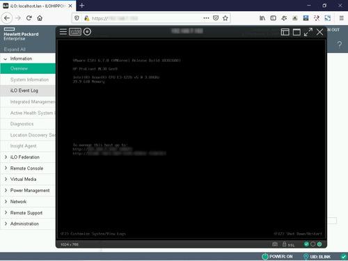 actualización firmware ilo4 v2.73 servidores hpe gen8 y gen9