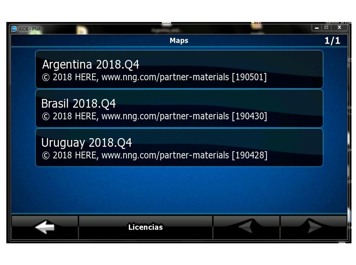 Actualizacion Gps Igo Argentina Brasil Chile Uruguay 2019