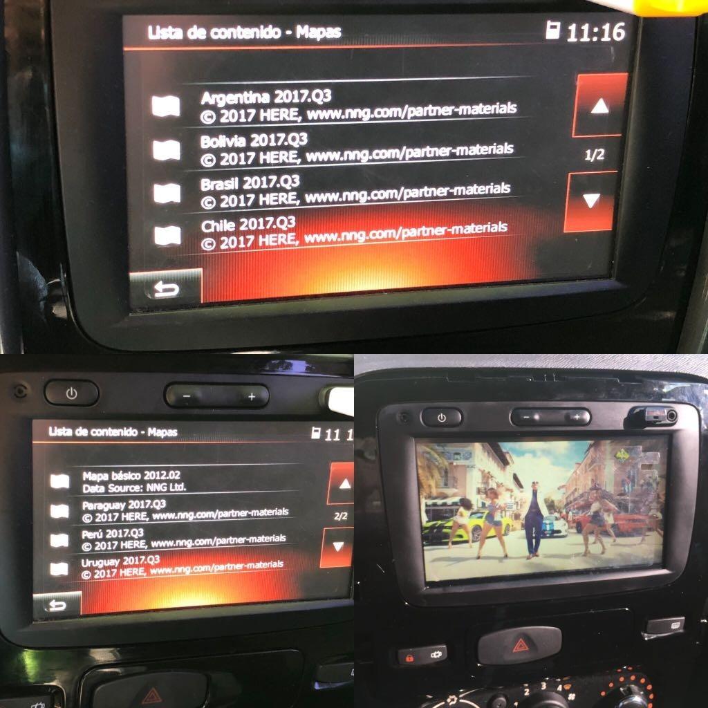 Actualización Medianav Evolution Mapas 2018 Renault + Videos
