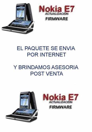 actualizacion nokia e7 symbian belle final todo en español
