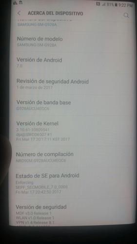 actualizacion oficial android nougat s6 edge s6 edge plus