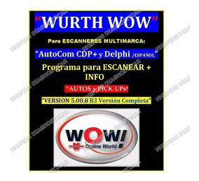Actualización Para Autocom / Delphi Español Con Activación