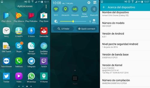 actualizacion software firmware android para samsung