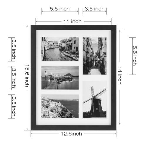 Actualizado El Vidrio Templado Collage Imagen Marco 4 X 6 ...