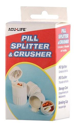 acu-life pastillero triturador con copa